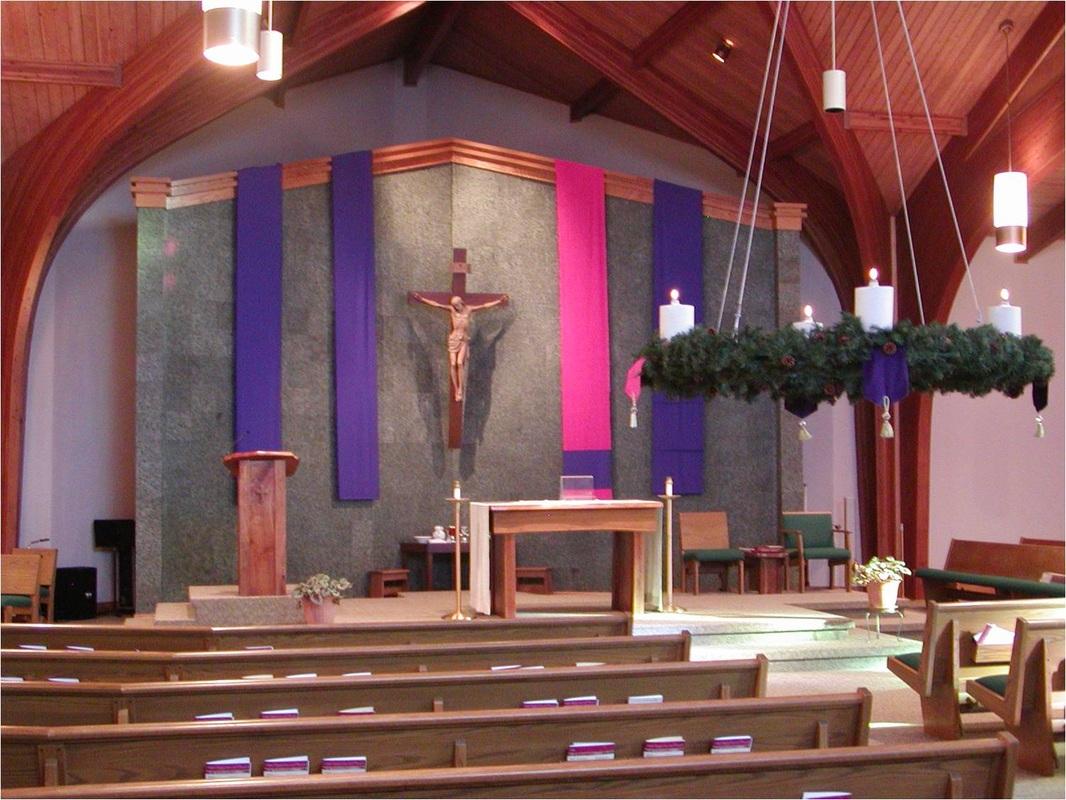 Church Decorating St Mary Catholic Church Solon Iowa